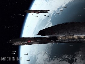 BSG: Blood & Chrome - Battlestars
