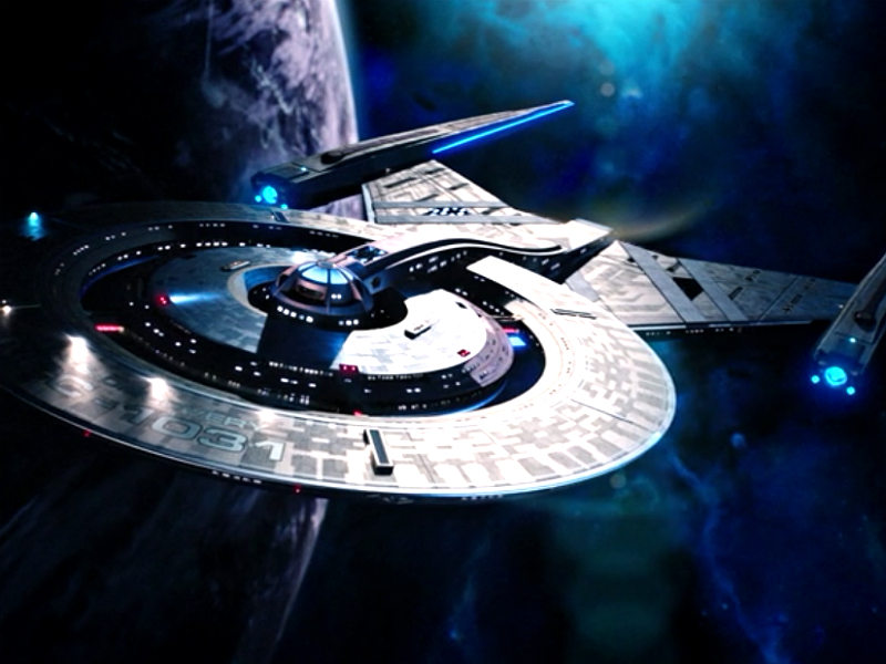Star Trek Discovery Ship