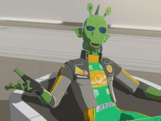 """Star Wars: Resistance (105) - """"The High Tower"""""""