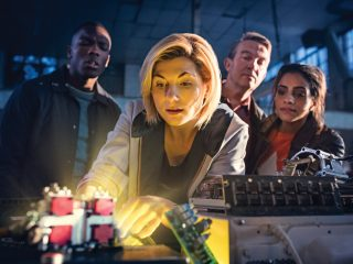"""Doctor Who (1101) - """"The Woman Who Fell to Earth"""""""
